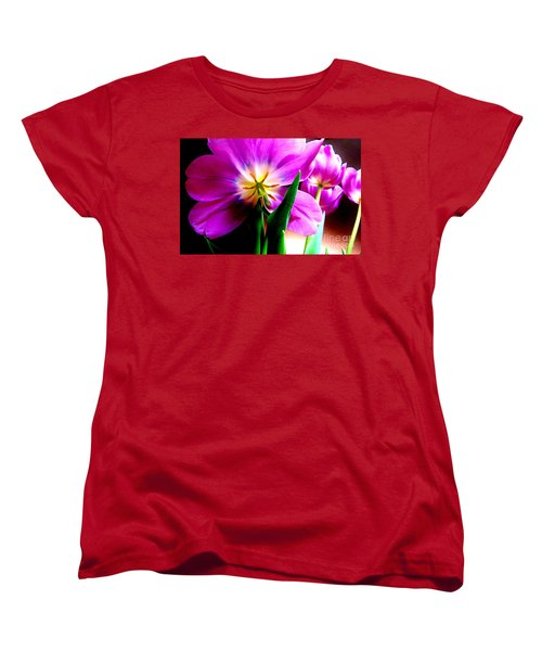 Tulip Time Women's T-Shirt (Standard Cut) by Tim Townsend