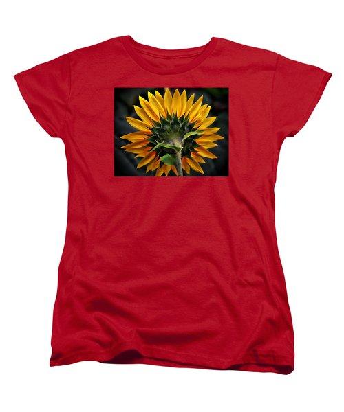 Turn Around In Time Women's T-Shirt (Standard Cut) by Karen McKenzie McAdoo