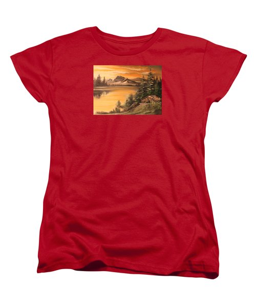 Twilight Women's T-Shirt (Standard Cut) by Remegio Onia