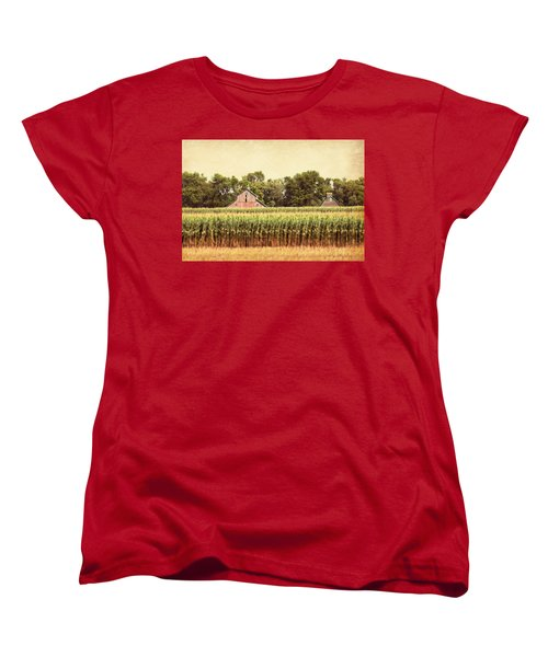Twin Peaks Women's T-Shirt (Standard Cut) by Julie Hamilton