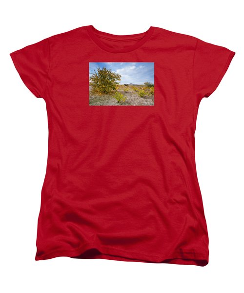 Women's T-Shirt (Standard Cut) featuring the photograph Uchisar by Yuri Santin