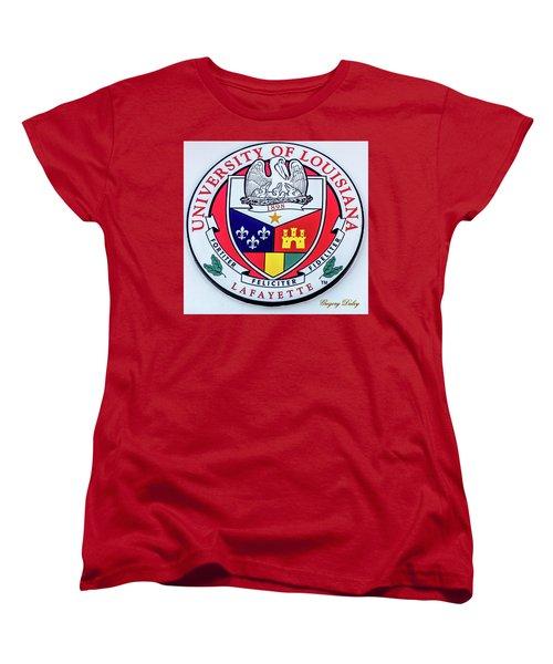 Ul Seal Women's T-Shirt (Standard Cut) by Gregory Daley  PPSA