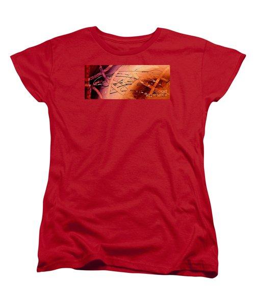 Under The Sea Abstract Modern Art By Saribelle Women's T-Shirt (Standard Cut)