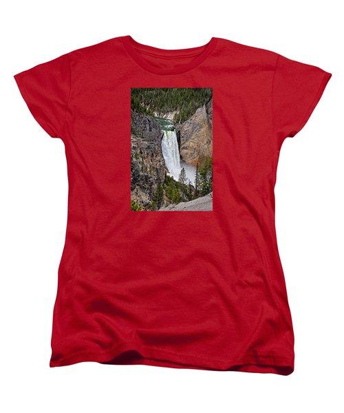 Upper Falls Women's T-Shirt (Standard Cut) by John Gilbert