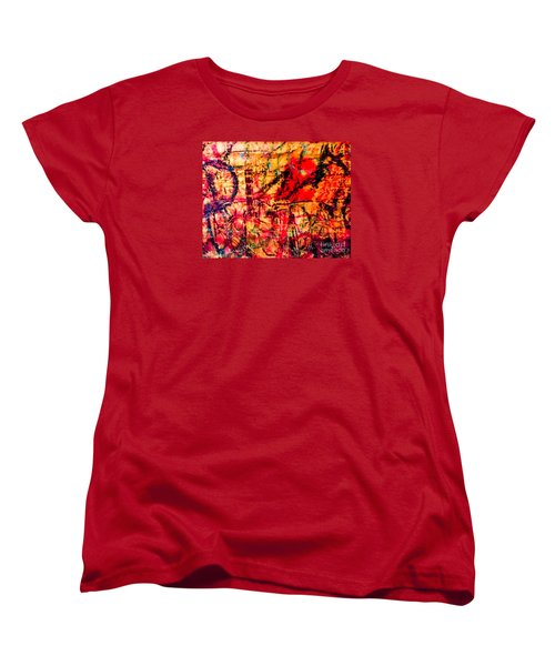 Women's T-Shirt (Standard Cut) featuring the photograph Urban Grunge One by Ken Frischkorn