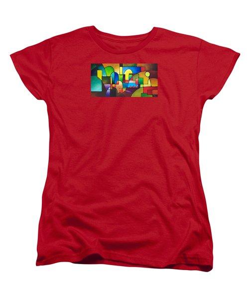 Urbanity 2 Women's T-Shirt (Standard Cut) by Sally Trace