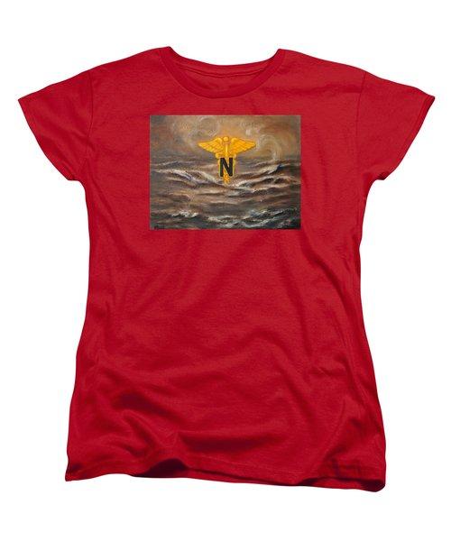 U.s. Army Nurse Corps Desert Storm Women's T-Shirt (Standard Cut)