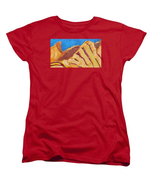 Utah  Canyons Women's T-Shirt (Standard Cut) by Don Koester