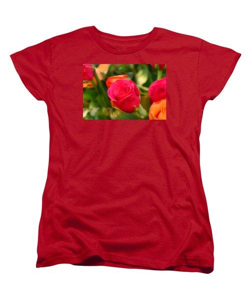 Valentines Day Women's T-Shirt (Standard Cut) by Bernd Hau
