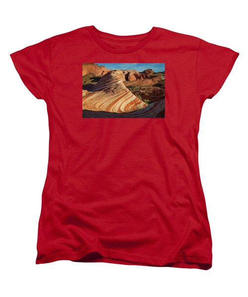Valley Of Fire Xiv Women's T-Shirt (Standard Cut)