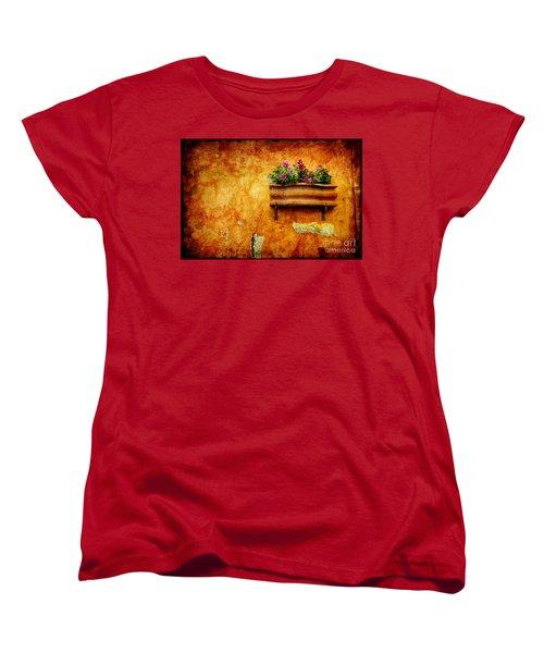 Vase Women's T-Shirt (Standard Cut) by Silvia Ganora