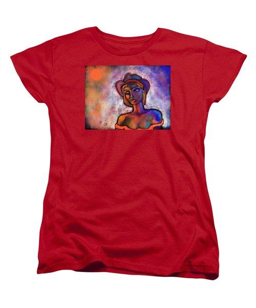 Velvet Squeeze Women's T-Shirt (Standard Cut) by Hans Magden