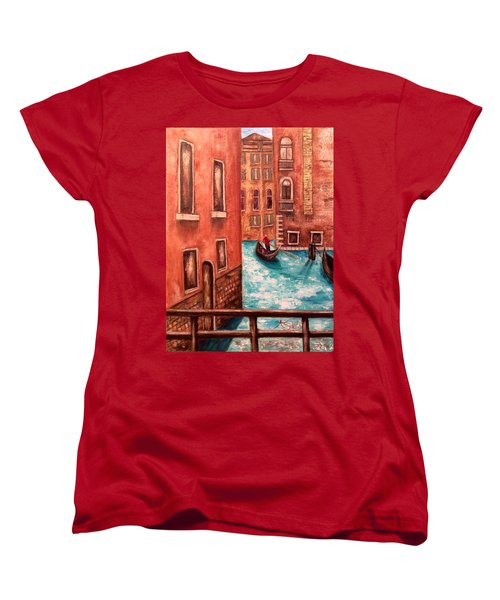 Venice Women's T-Shirt (Standard Cut) by Annamarie Sidella-Felts
