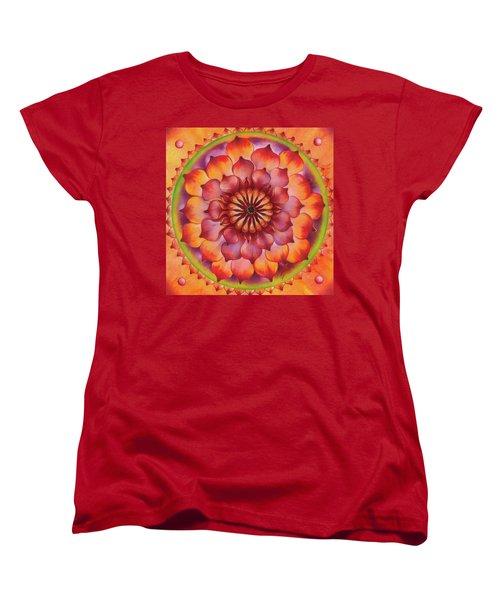 Vibration Of Joy And Life Women's T-Shirt (Standard Cut) by Anna Ewa Miarczynska