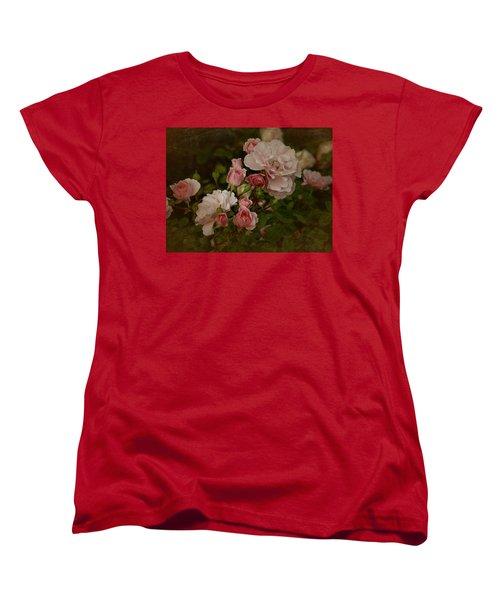 Women's T-Shirt (Standard Cut) featuring the photograph Vintage June 2016 Roses by Richard Cummings