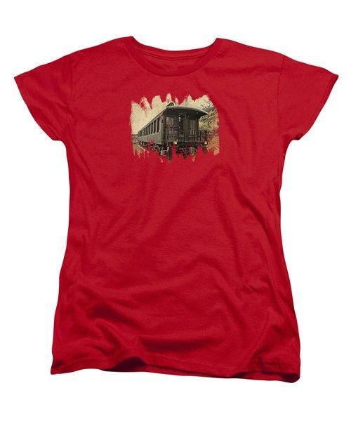 Virginia City Pullman Women's T-Shirt (Standard Cut) by Thom Zehrfeld