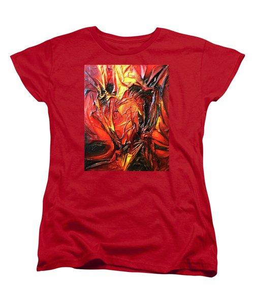 Volcanic Fire Women's T-Shirt (Standard Cut)