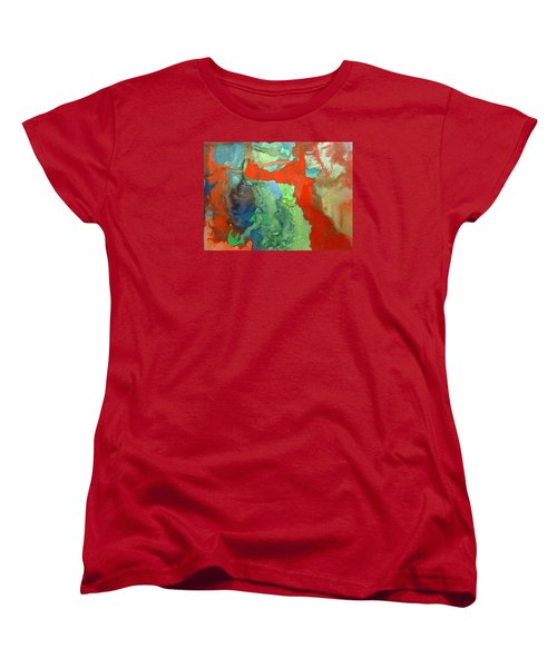 Volcanic Island Women's T-Shirt (Standard Cut) by Mary Ellen Frazee