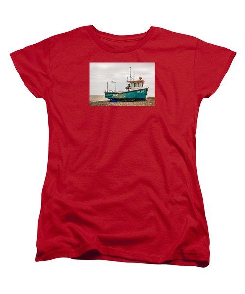 Waiting For Water Women's T-Shirt (Standard Cut) by David Warrington