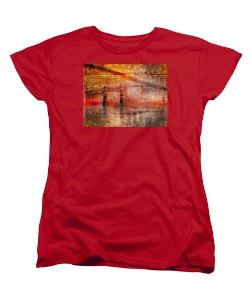 Waiting Women's T-Shirt (Standard Cut) by Marcia Lee Jones