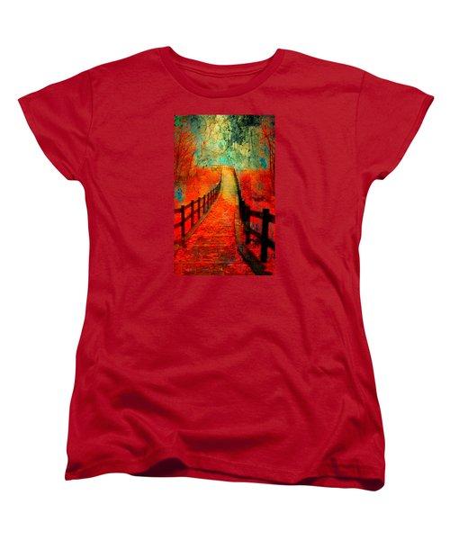 Wander Bridge Women's T-Shirt (Standard Cut)