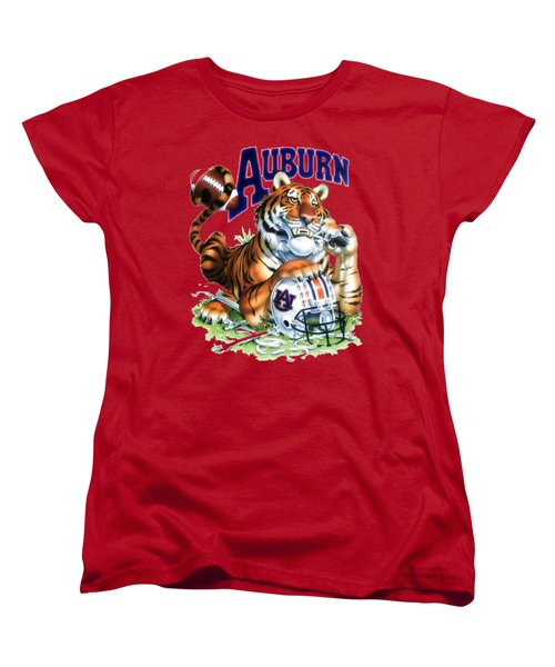 War Eagle  Women's T-Shirt (Standard Cut) by Herb Strobino