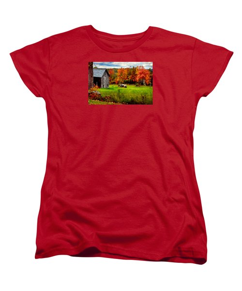 Warner Farm Women's T-Shirt (Standard Cut) by Tricia Marchlik