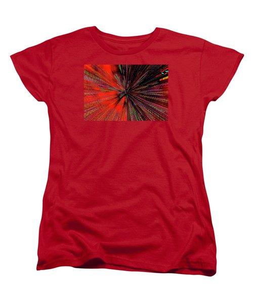 Women's T-Shirt (Standard Cut) featuring the photograph Warp Drive Mr Scott by Tony Beck