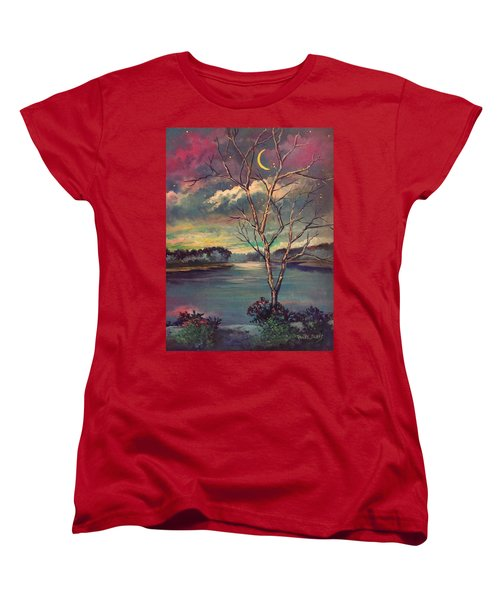 Was Like Stained Glass Women's T-Shirt (Standard Cut)