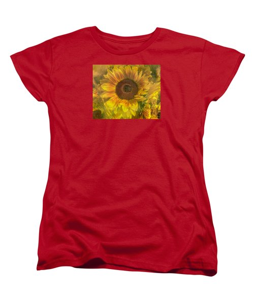 Women's T-Shirt (Standard Cut) featuring the photograph Washed In Sun by Arlene Carmel