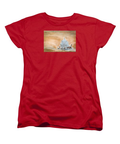 Women's T-Shirt (Standard Cut) featuring the photograph Washed Up by Sebastian Musial