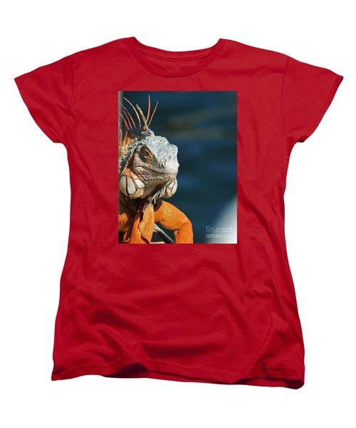 Watchful Eye Women's T-Shirt (Standard Cut) by Pamela Blizzard