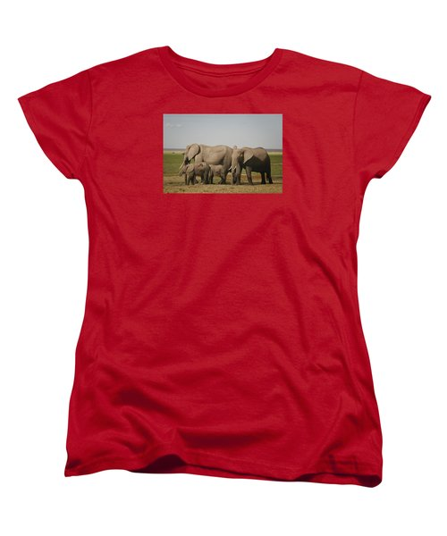 Women's T-Shirt (Standard Cut) featuring the photograph Watching The Children by Gary Hall