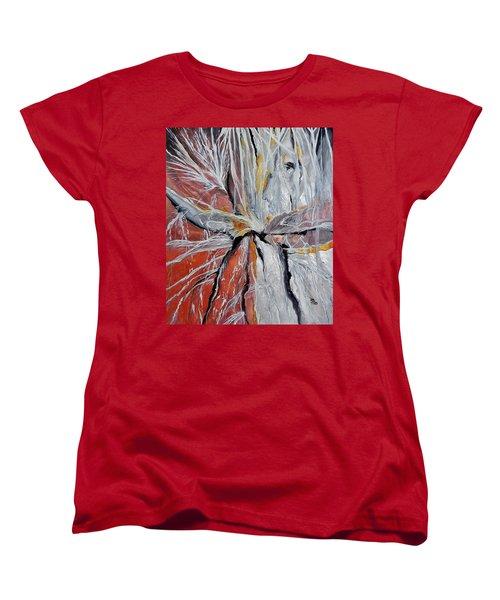 Water Leaks Women's T-Shirt (Standard Cut) by Raymond Perez