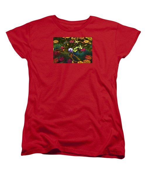 Water Lily Dreams Women's T-Shirt (Standard Cut) by Terry Cork