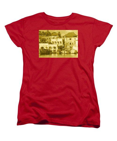 Waterfront Women's T-Shirt (Standard Cut) by Patrick Kain