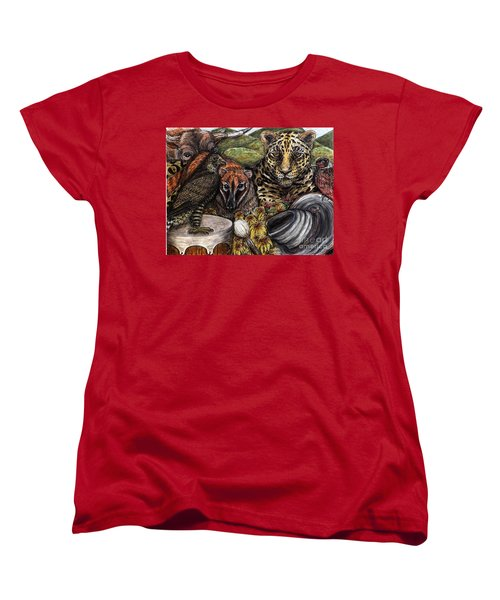 We Are All Endangered Women's T-Shirt (Standard Cut) by Kim Jones