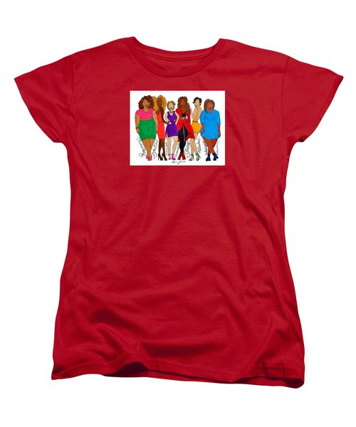 We Are Women's T-Shirt (Standard Cut) by Diamin Nicole