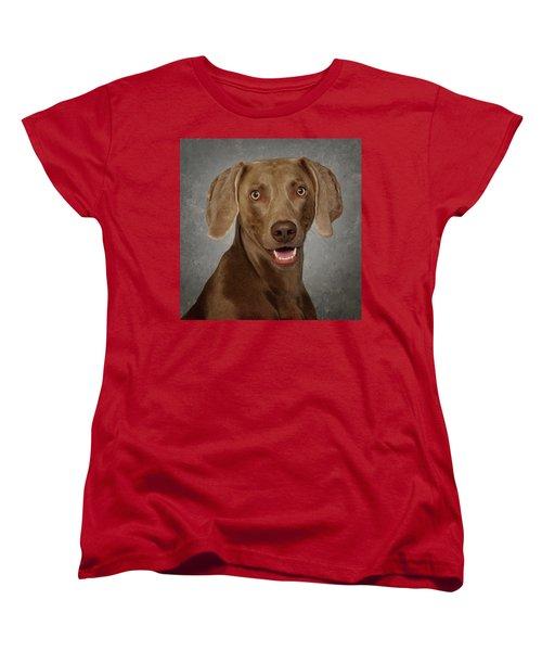 Weimaraner Women's T-Shirt (Standard Cut) by Greg Mimbs