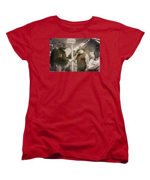 Welcome Doctor Women's T-Shirt (Standard Cut) by Randall Cogle