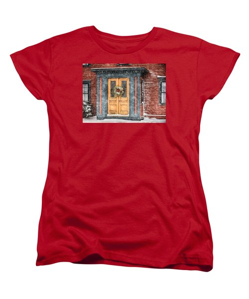 Welcome Women's T-Shirt (Standard Cut) by Tricia Marchlik
