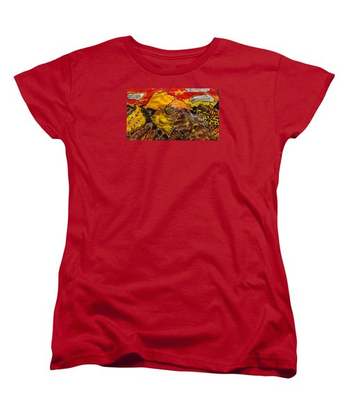 Women's T-Shirt (Standard Cut) featuring the painting Western Hills 4 by Don Koester