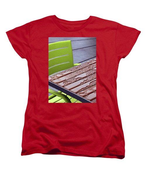 Wet Table Women's T-Shirt (Standard Cut) by Christopher McKenzie