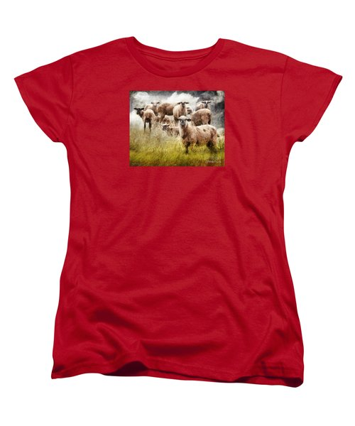 Women's T-Shirt (Standard Cut) featuring the photograph What You Lookin' At? by Rhonda Strickland