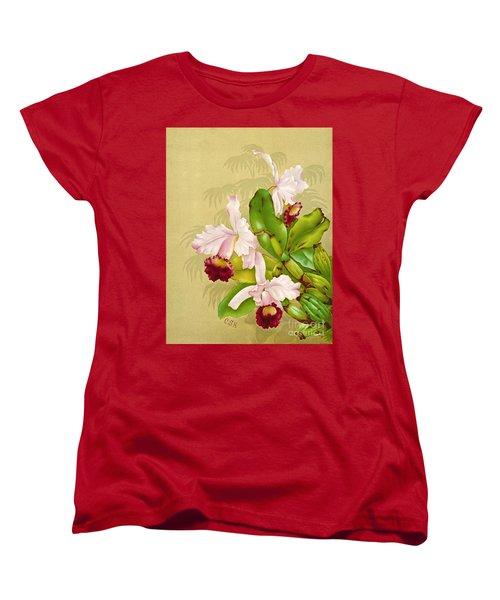 White House Orchid 1892 Women's T-Shirt (Standard Cut) by Padre Art