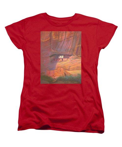 White House Rock  Home Of He Anasazi He Anasazi Women's T-Shirt (Standard Cut)