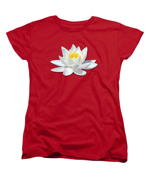 White Lily 2 Women's T-Shirt (Standard Cut) by Bob Slitzan