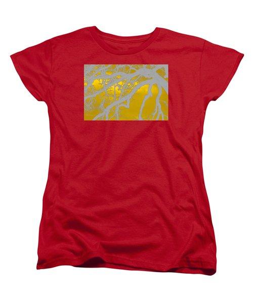 White Oak -yellow Orange Women's T-Shirt (Standard Cut) by Tom Janca