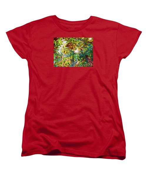 wild and Weedy Women's T-Shirt (Standard Cut) by Shirley Moravec