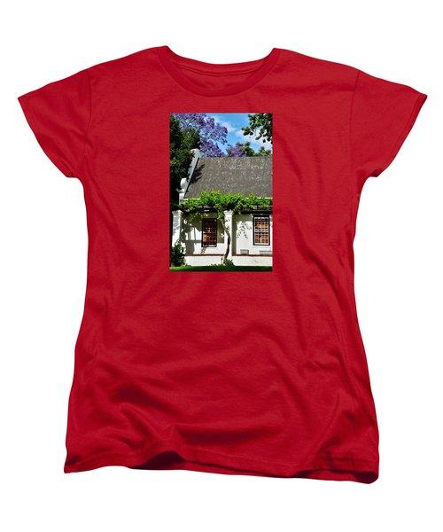 Women's T-Shirt (Standard Cut) featuring the photograph wild Wine by Werner Lehmann